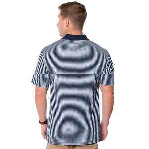 Churchill Performance Polo in Brunnera Blue by The Southern Shirt Co.  - 2