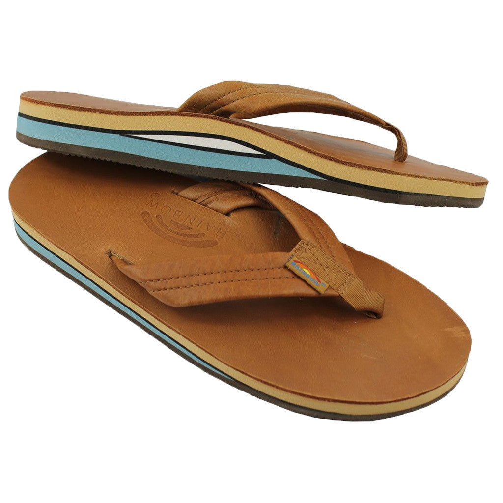 aa67ef5f3451 Men's Classic Leather Double Layer Arch Sandal