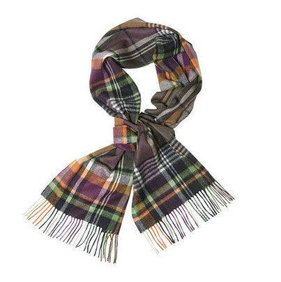 Bright Country Plaid Scarf - FINAL SALE