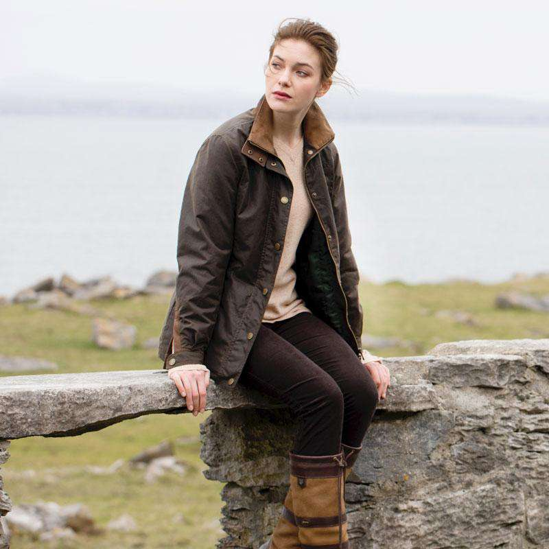 Dubarry of Ireland Women's Mountrath Waxed Cotton Jacket by Dubarry of Ireland