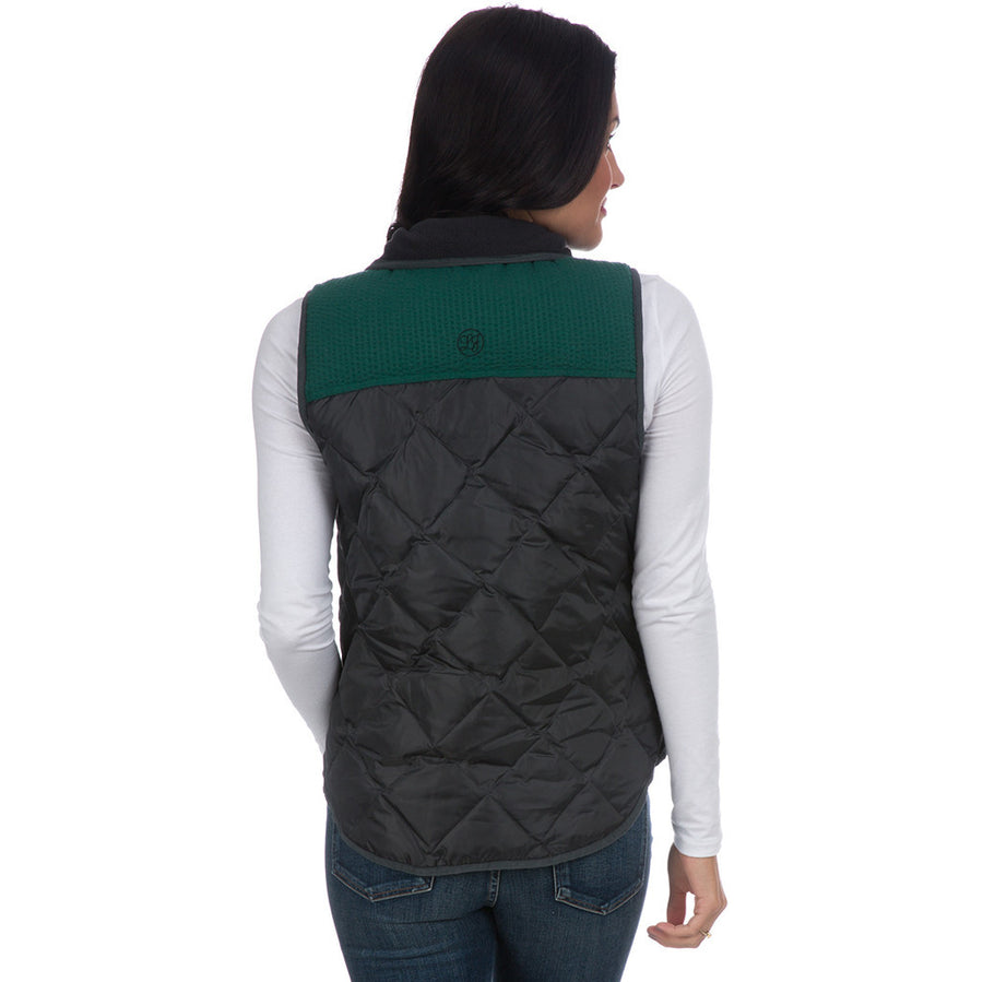 Easton Vest in Charcoal   - 1