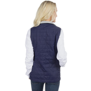 Ellison Vest in Navy   - 2