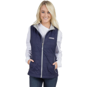 Ellison Vest in Navy   - 1