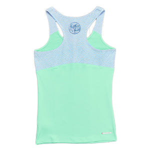 FieldTec Racerback Yoga Tank in Mint Green   - 3