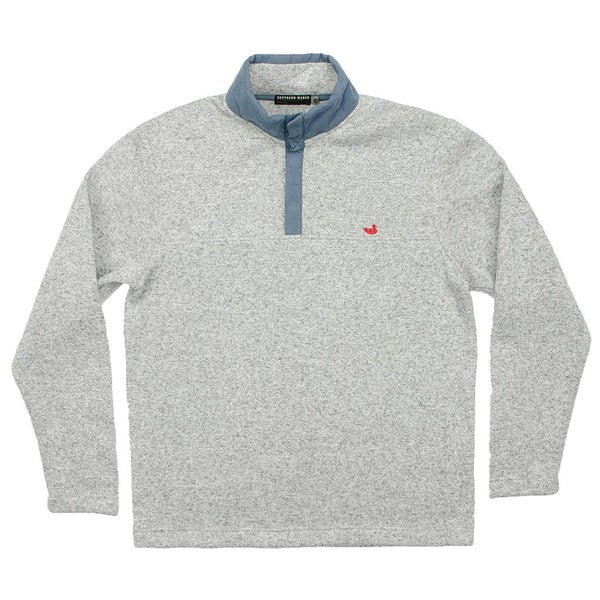 FieldTec Woodford Snap Pullover in Avalanche Gray by Southern Marsh  - 1