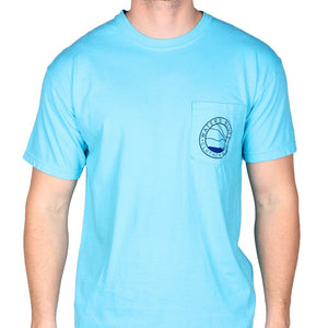 Flippin' Out Tee Shirt in Lagoon Blue   - 2