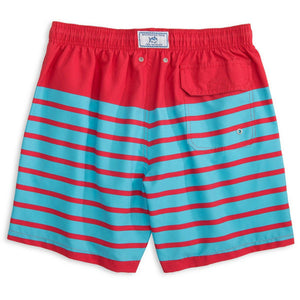 For Shore Stripe Swim Trunks