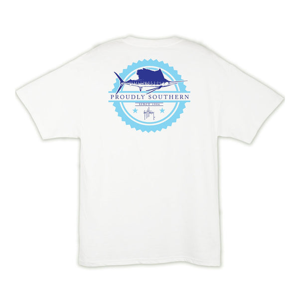 Guy Harvey Outlaw T-Shirt in White