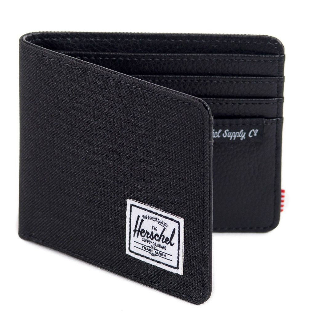 2abea9dabf0 Herschel Hank Wallet in Black - Tide and Peak Outfitters