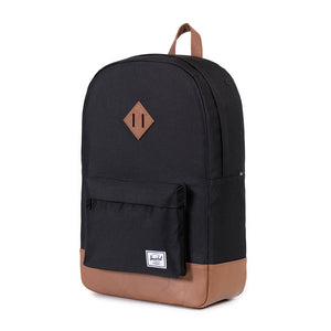 Heritage Backpack in Black by Herschel Supply Co.  - 1