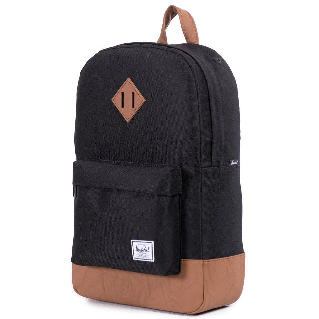 Heritage Mid Volume Backpack in Black by Herschel Supply Co. - 1 9e778ac30d584