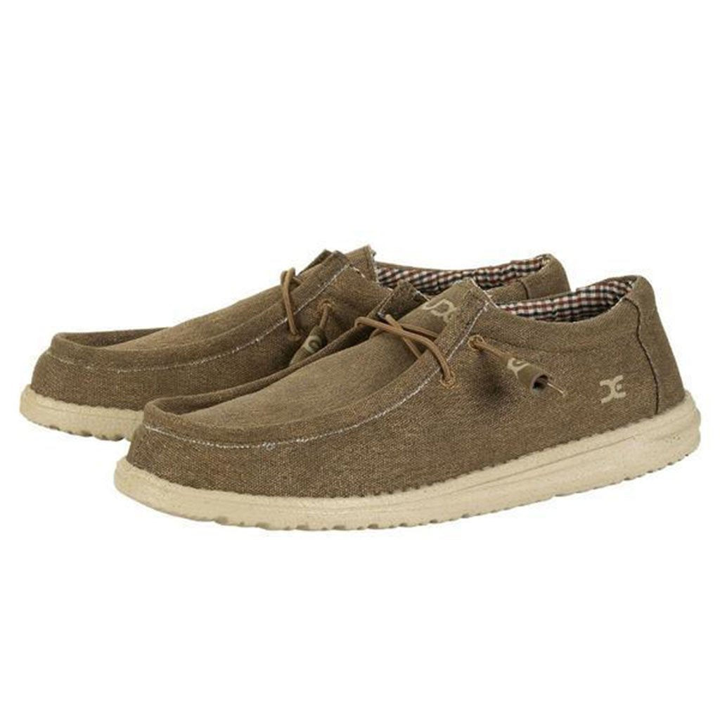 Hey Dude | Wally Canvas Shoe - Tide and