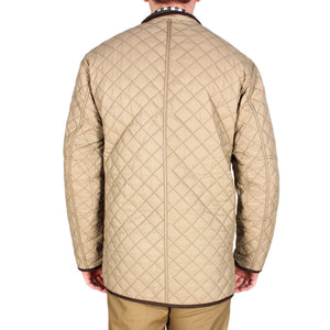 Quilted Reversible Jacket in Olive Green & Khaki by Madison Creek Outfitters