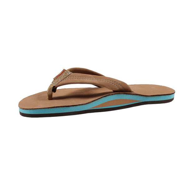 Men's Premier Leather Blues Single Arch Sandal