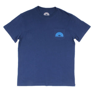 Luke Skysurfer Simple Pocket Tee in Navy by Waters Bluff