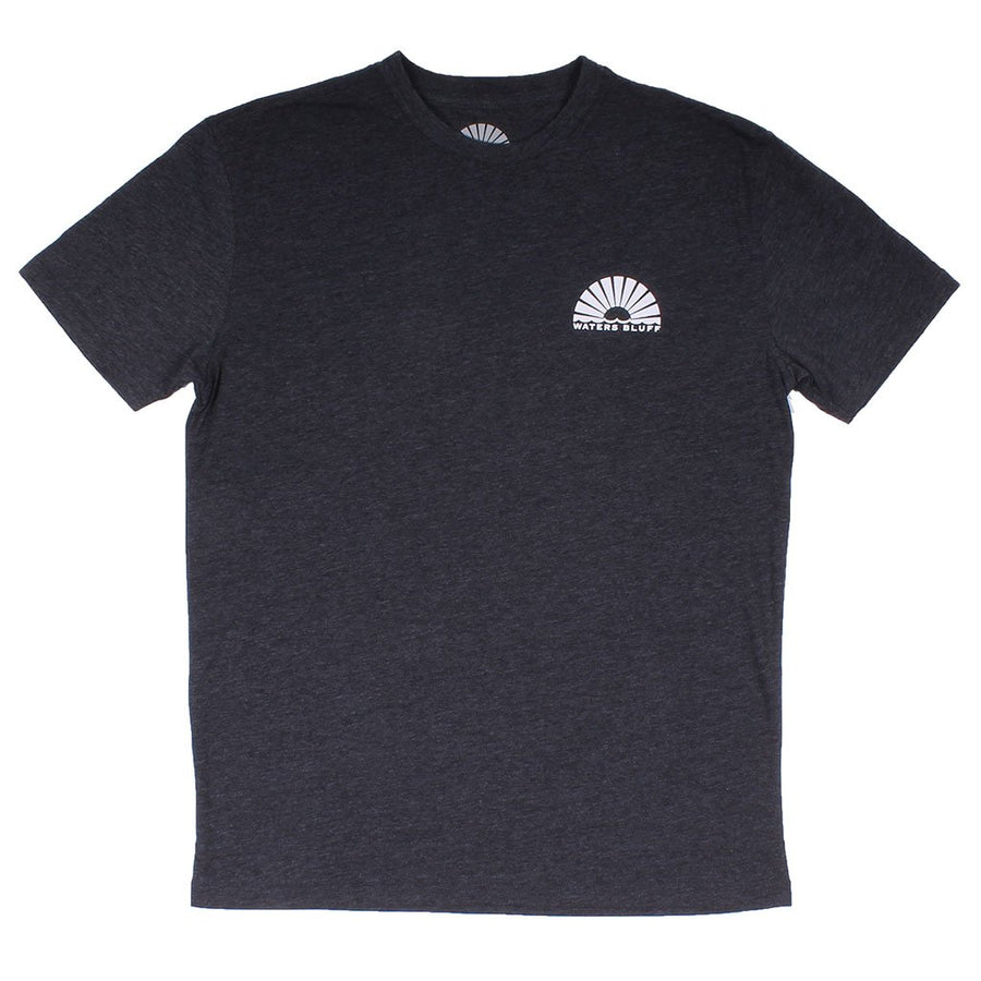 Minimal Tower Natural Tee in Bluff Grey Blend by Waters Bluff
