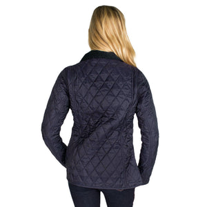 Annandale Quilted Jacket in Navy