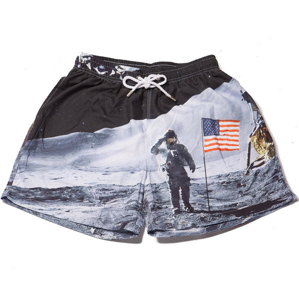 Kennedy The Man on the Moons Swim Trunks