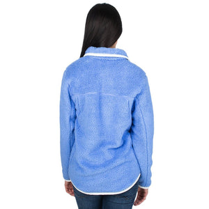 Lauren James Aspen Pullover in Polar Blue