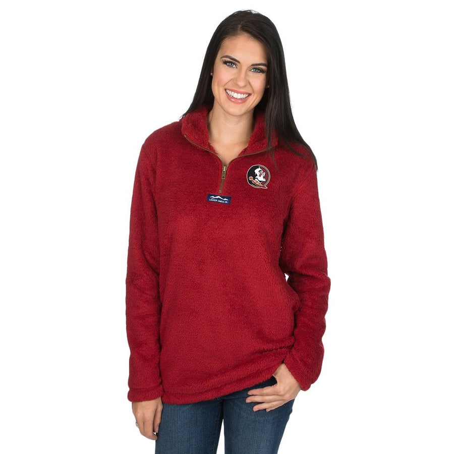 Collegiate Linden Sherpa Pullover - FINAL SALE