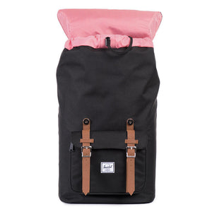 Little America Backpack in Black by Herschel Supply Co.  - 2