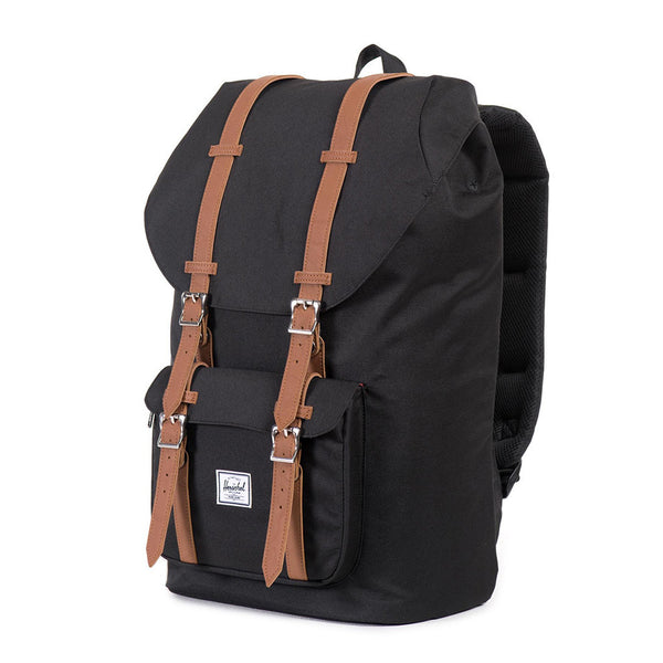 Little America Backpack in Black by Herschel Supply Co.  - 1