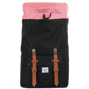 Little America Mid Volume Backpack in Black by Herschel Supply Co.  - 2