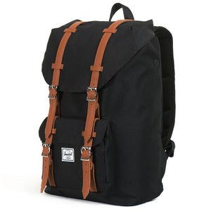Little America Mid Volume Backpack in Black by Herschel Supply Co.  - 1