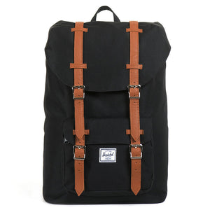 Little America Mid Volume Backpack in Black by Herschel Supply Co.  - 4