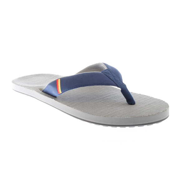 Hari Mari Men's Parks II Flip Flops in Navy & Gray