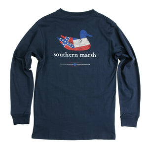 Authentic Mississippi Heritage Long Sleeve Tee