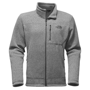 Men's Gordon Lyons Full Zip Fleece in Heathered Medium Grey by The North Face
