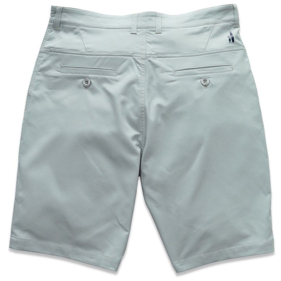 "Mulligan ""Prep-Formance"" Shorts in Alloy"