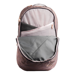 Women's Isabella Backpack in Rabbit Grey Copper Melange by The North Face