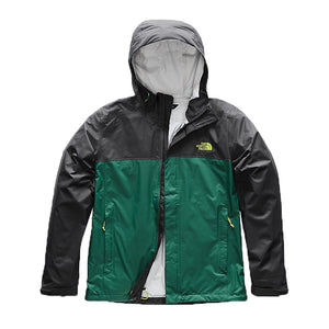 The North Face Men's Venture 2 Jacket in Asphalt Grey & Botanical Garden Green