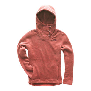 The North Face Women's Crescent Hooded Pullover in Faded Rose Heather