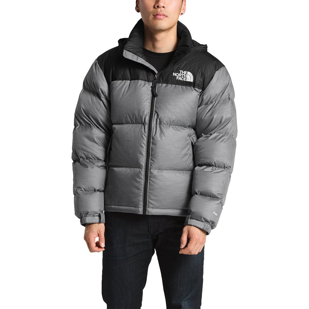 c58ca307cd The North Face Men's 1996 Retro Nuptse Jacket in TNF Medium Grey Heather