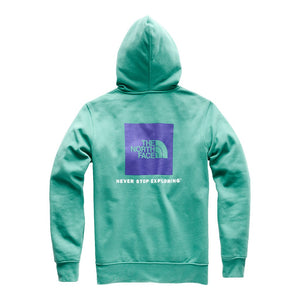 Men's Half Dome Pullover Hoodie in Porcelain Green & Deep Blue by The North Face