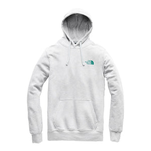 Men's Half Dome Pullover Hoodie in Light Heather Grey & Everglade by The North Face