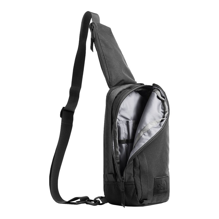 The North Face Field Bag in Asphalt Grey Heather & TNF Black