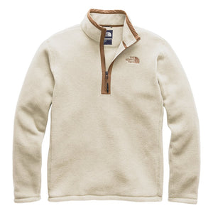 Men's Pyrite Fleece 1/4 Zip in Granite Bluff Tan Heather by The North Face