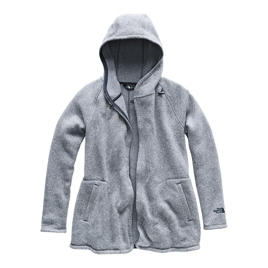The North Face Women's Crescent Wrap in Fig Heather