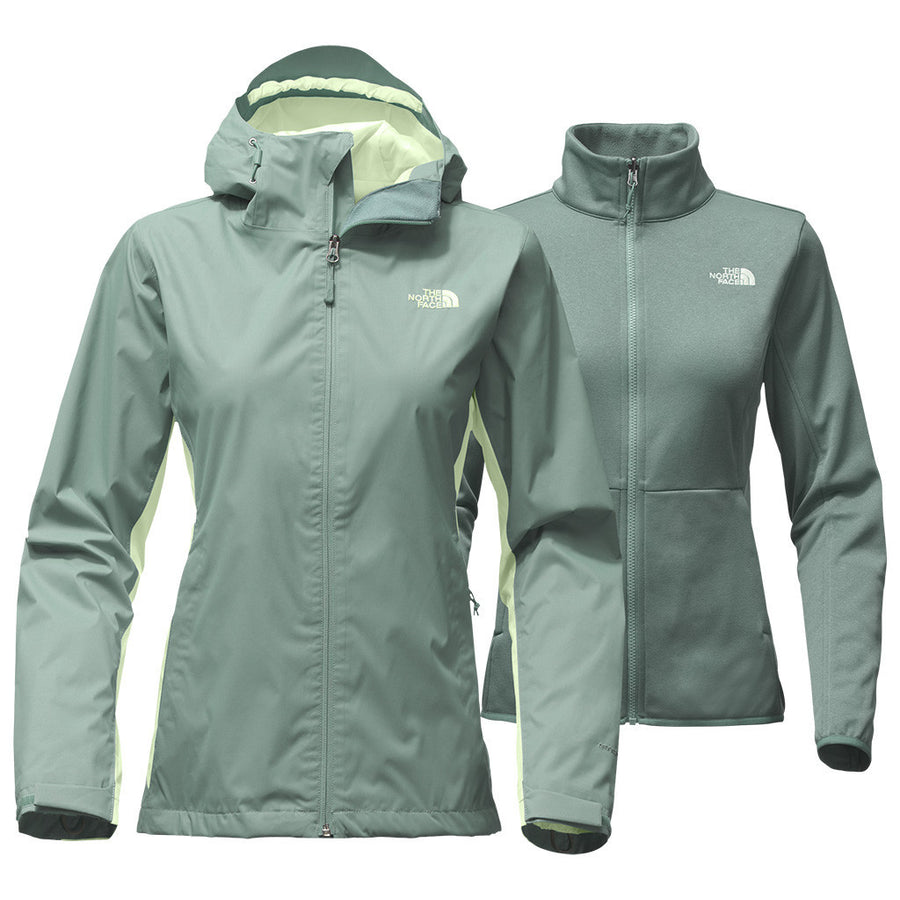 Women's Arrowood Triclimate Jacket in Trellis Green by The North Face  - 1