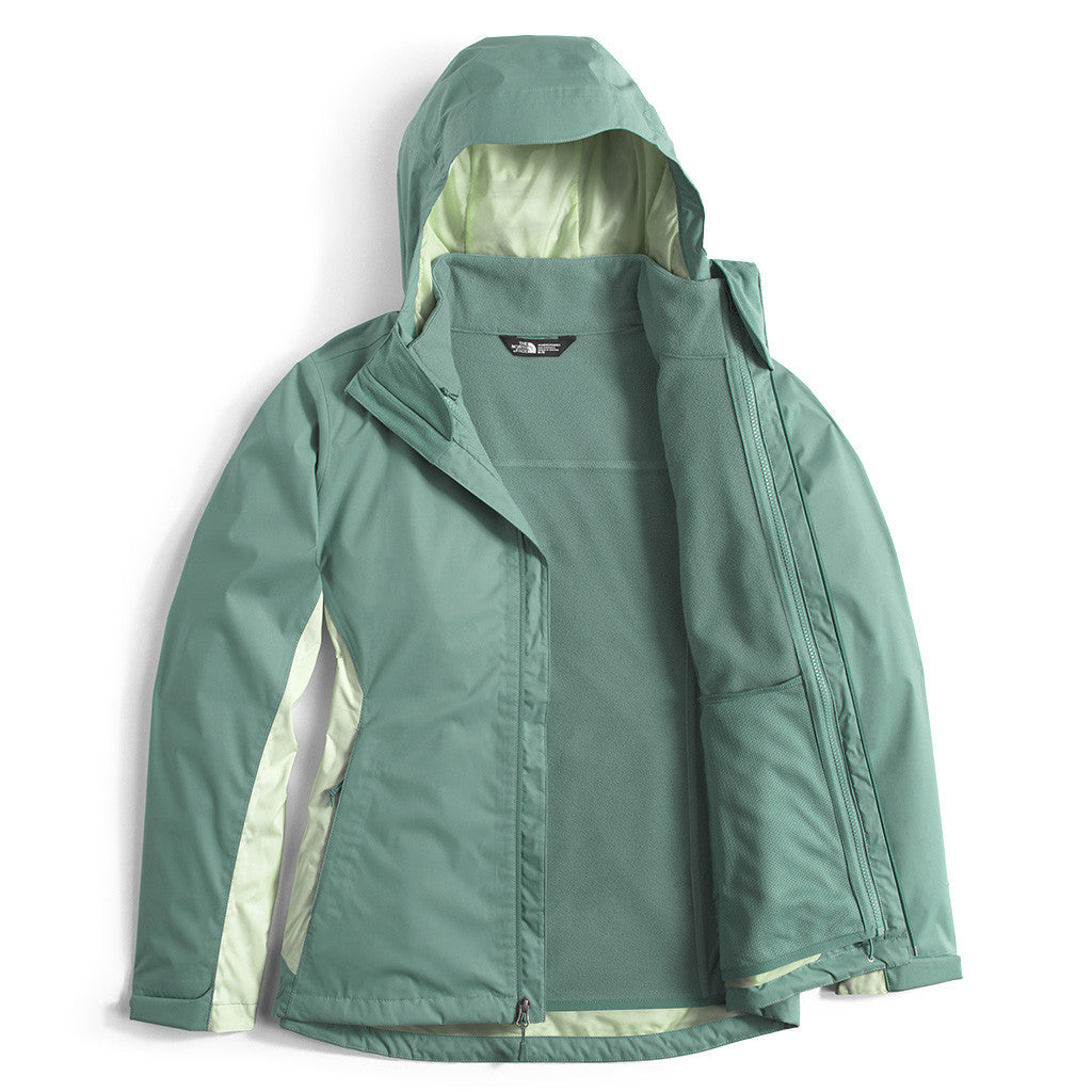 Women s Arrowood Triclimate Jacket in Trellis Green by The North Face - 3 2bf63bec90