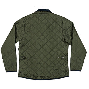 Marshall Quilted Jacket in Dark Green by Southern Marsh  - 3