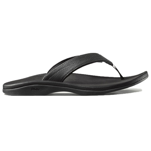 Women's 'Ohana Sandal in Black   - 1