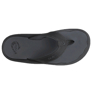 Men's 'Ohana Sandal in Black & Dark Shadow   - 2