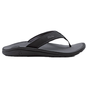Men's 'Ohana Sandal in Black & Dark Shadow   - 1