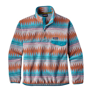 patagonia Men's Lightweight Synchilla® Snap-T® Fleece Pullover laughing waters filter blue