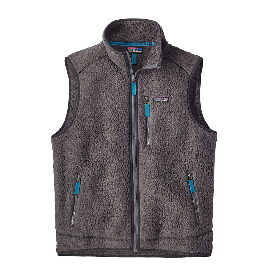 Patagonia Men's Retro Pile Fleece Vest el cap khaki